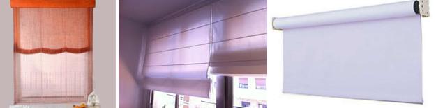 Colocaci n de cortinas persianas o estores hogar reparaci n for Tipos de cortinas y estores
